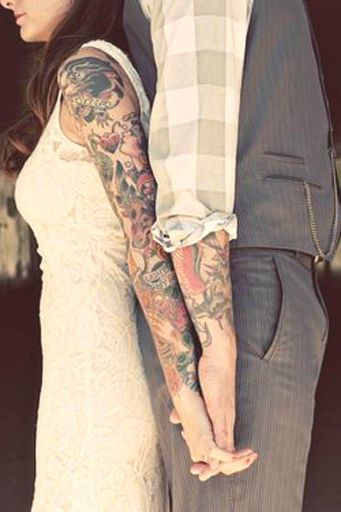 0c654130325b9 21 Creative Wedding Tattoos That Inspire You | Weddings | Wedding ...