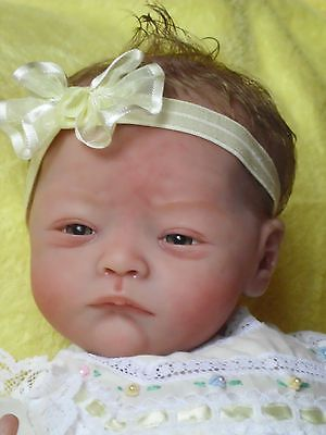 reborn baby girl,limited edition , Will By Natalie Scholl , Baby Daisy ,MR, GHSP