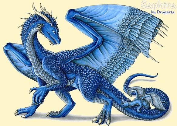 eragon blue dragon Saphira. I loved the books less the movie