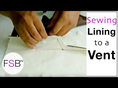 how-to-make-a-dress - Centre Back lining construction full video ...