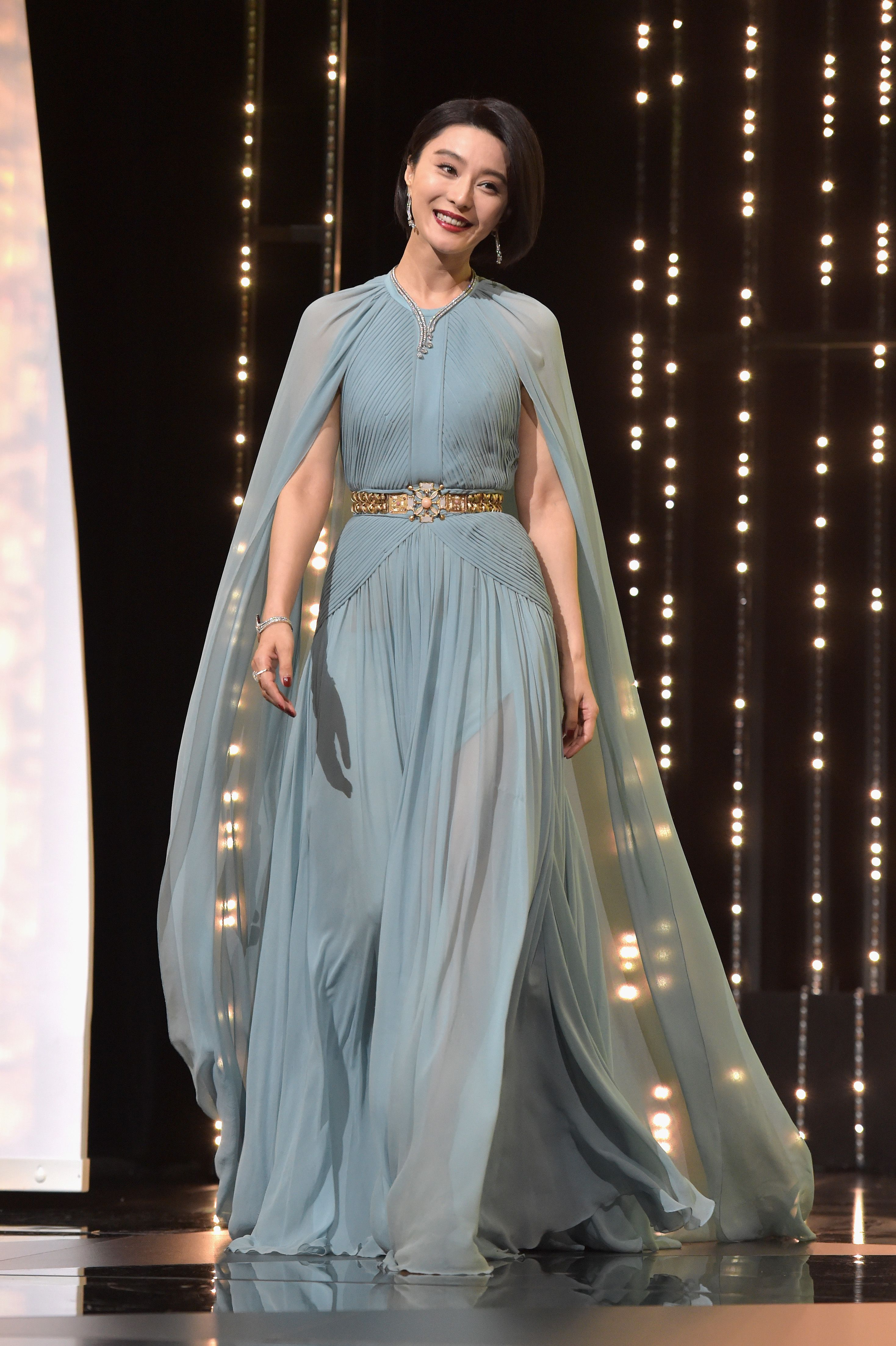 Jury member Fan Bingbing in ELIE SAAB Haute Couture Spring Summer ...