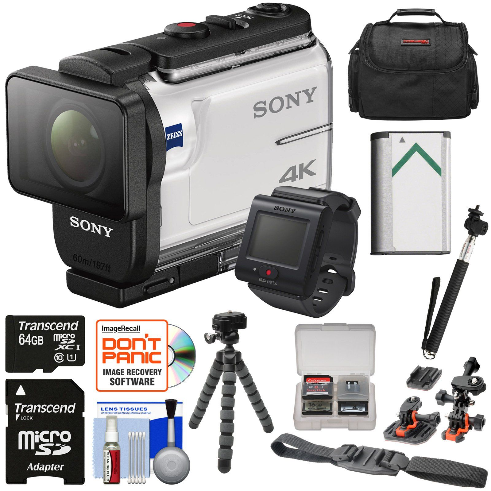 Sony Action Cam FDRX3000R WiFi GPS 4K HD Video Camera Camcorder