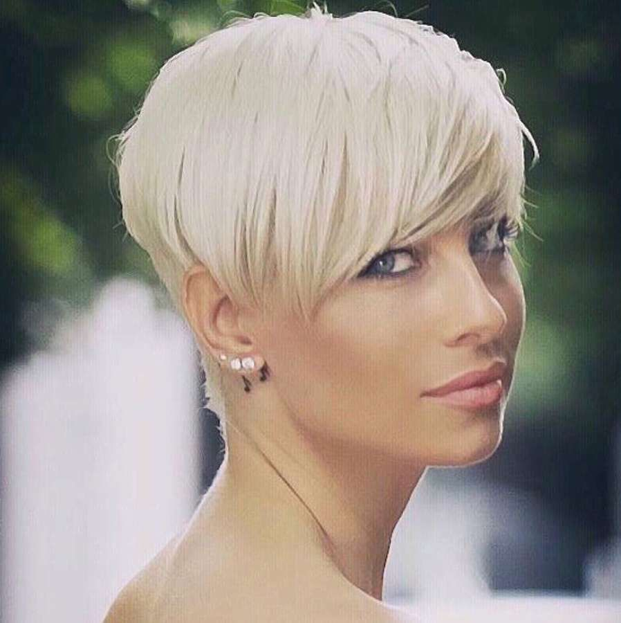 short hairstyles blond long pixies pinterest short