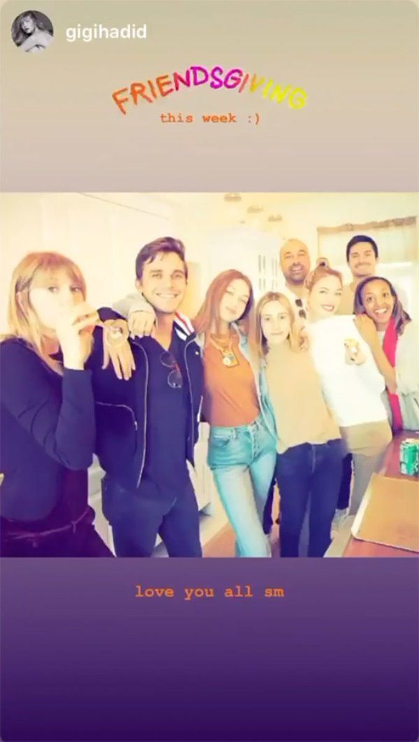 Taylor Swift Celebrates Friendsgiving with Gigi Hadid, Martha Hunt & Queer Eye's Antoni Porowski