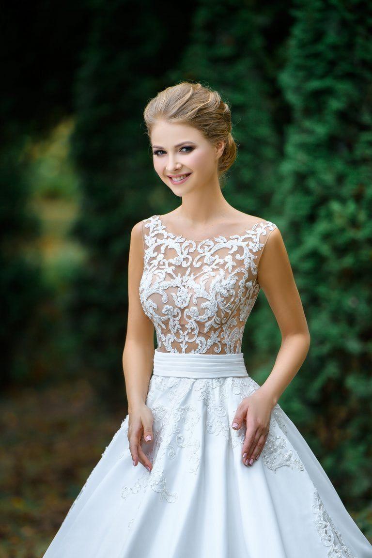 Brautkleid Model 1329 Brio · Ansicht vorne   Schöne ...
