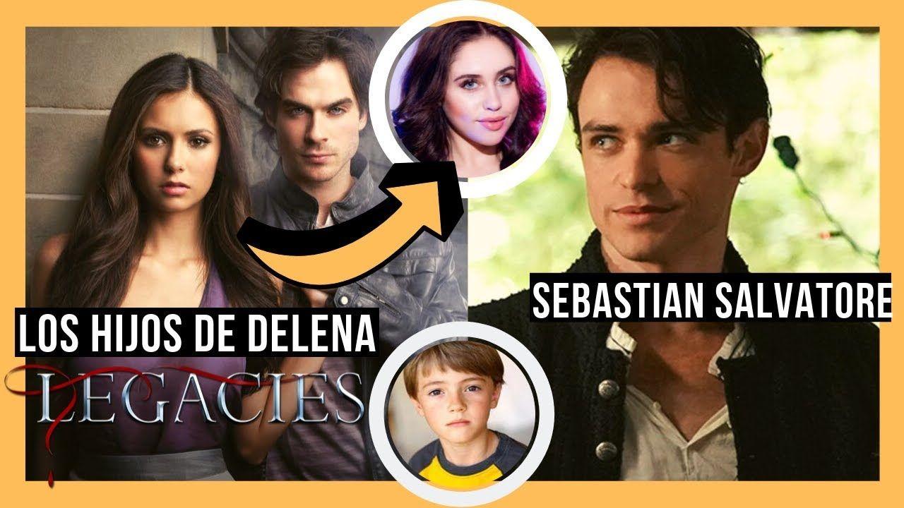 Los Hijos De Elena Y Damon En Legacies Temporada 2 Sebastian