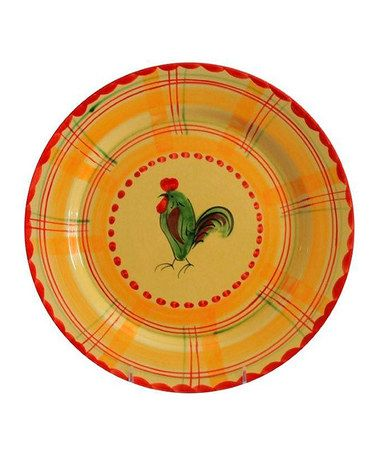 Look what I found on #zulily! Rooster Dinner Plate - Set of Four #zulilyfinds