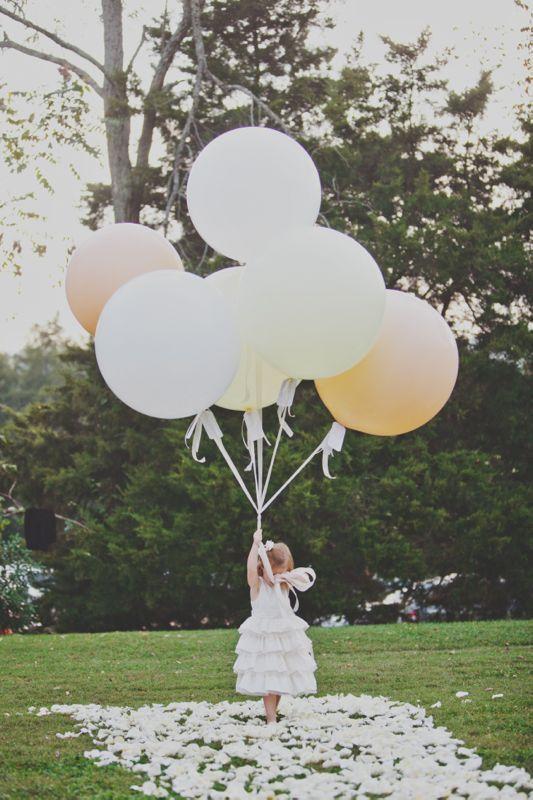 Vintage Parisian Inspired Cedarwood Wedding Cedarwood Weddings Flower Girl Basket Alternative Wedding Balloons Flower Girl Basket