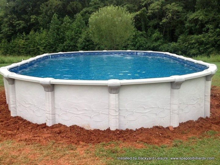 18x33 Grand Bahama Hot Tubs And Pools Installed By