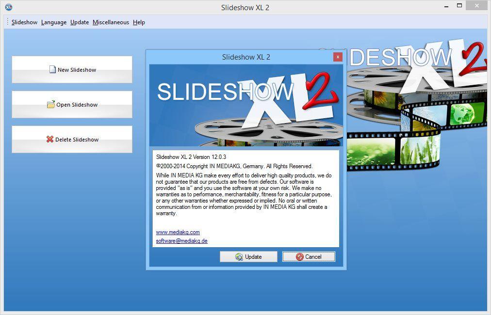 برنامج Slideshow Xl لعمل فيديو من الصور Language Pandora Screenshot How To Make
