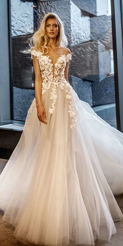Wedding Dress Autumn Wedding Guest Dresses Plus Size Wedding Dresses W