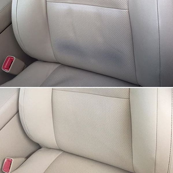How To Remove Denim Dye Transfer And Stains From Leather See Our