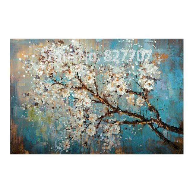 Picture Painting Online On Sale At Reasonable Prices Buy Handpainted Modern Abstract Flower Canvas Art Decoration Of Oil Wall Pictures For Living