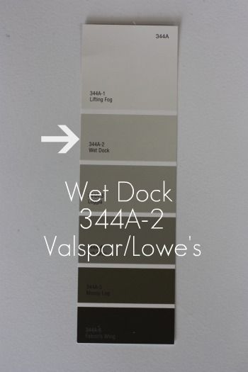 Wet Dock Valspar Lowe S This Color Is Still In The Gray Family But Has A Creamier Tone To It Than B Perfect Paint Color House Tweaking Crystals In The Home