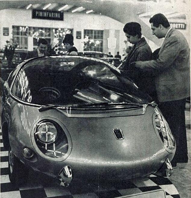 Fiat 600D Record (Vignale) - Turin'62