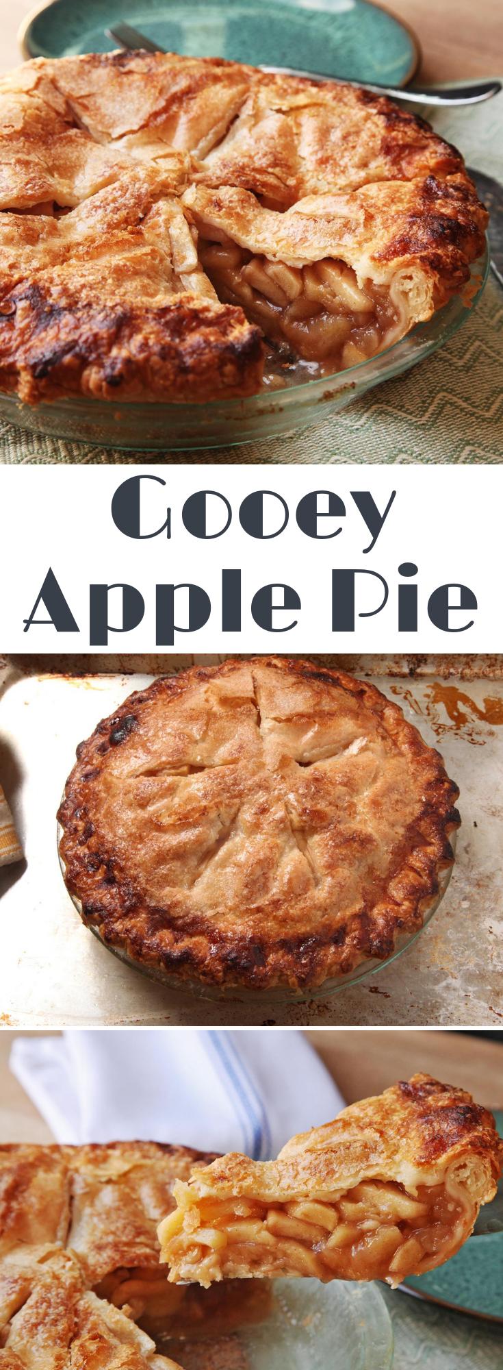 Gooey Apple Pie Recipe Recipe Apple Pie Recipes Deep Dish Apple Pie Apple Recipes