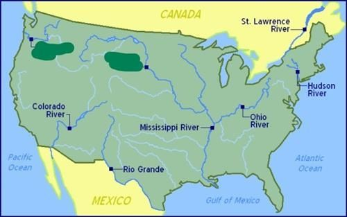 3rd Grade Mitchell Mallory Social Studies Mississippi River On Us - Mississippi-river-on-us-map