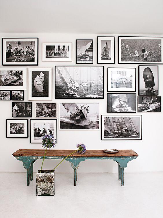 De 100 Fotos De Paredes Decoradas Decorar Con Fotos Decoracion Con Cuadros Fotos De Pared