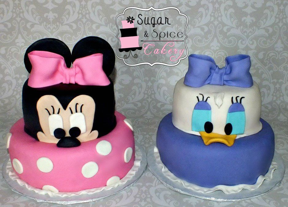 Minnie Mouse & Daisy Duck | Children's Cakes | Pinterest ...
