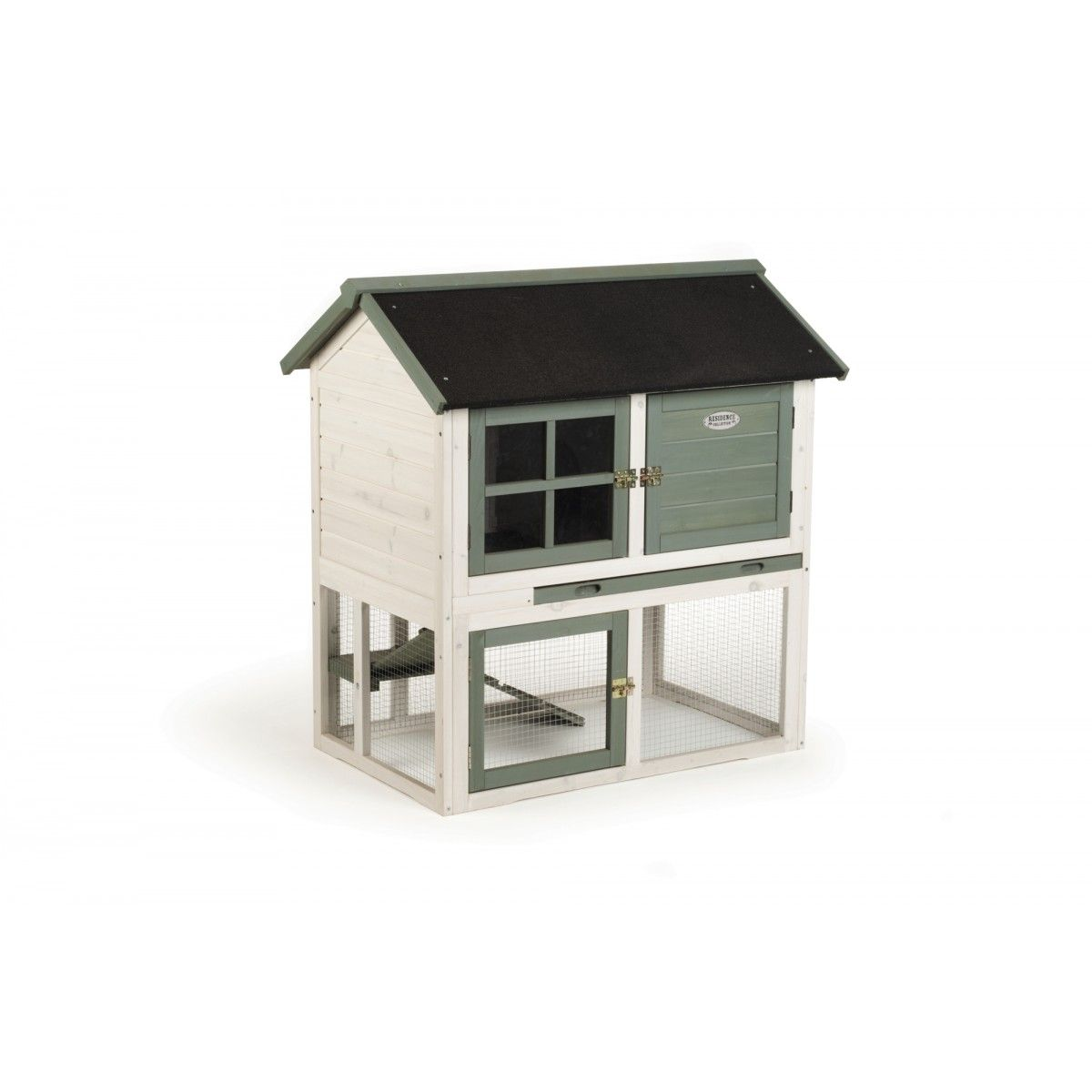 Hasenstall Drofty Residence Collection White Wash Hasenstall Kalkfarbe Haustiere