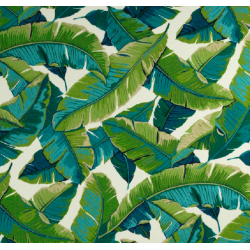 Resort Palm Leaf in Green Outdoor Fabric PO907