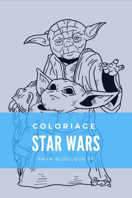 Coloriage Star Wars à imprimer | Coloriage star wars ...