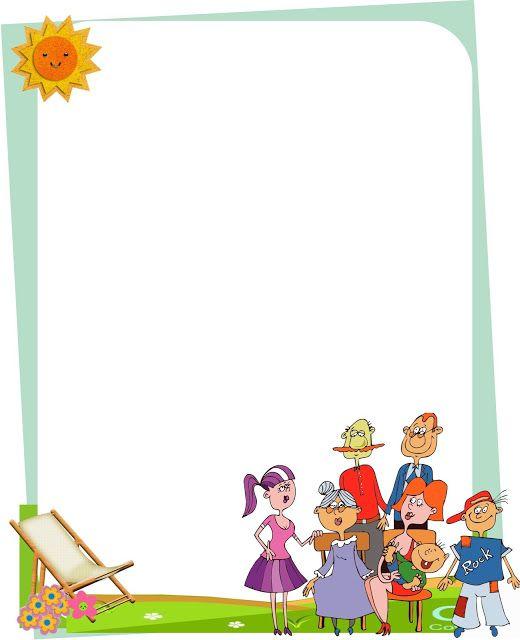 BORDERS FOR KID: DISEÑO GRAFICO CARATULAS DIA DE LA FAMILIA | bordes ...