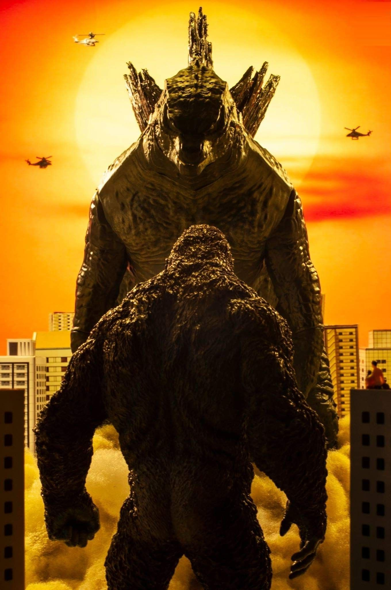 Godzilla Vs Kong Wallpaper For Mobile Phone Tablet Desktop Computer And Other Devices Hd And 4k Wall In 2021 King Kong Vs Godzilla Godzilla Comics Godzilla Wallpaper