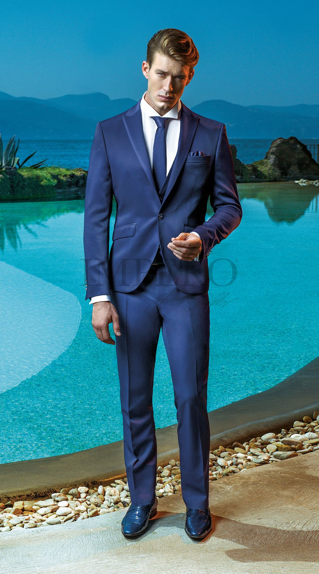 EG 8-17 #sposo #groom #suit #abito #wedding #matrimonio #nozze #blu ...