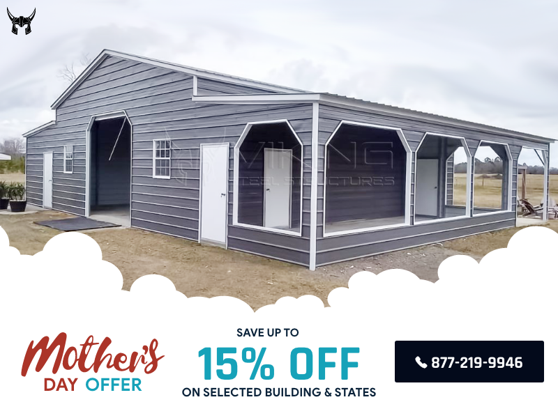 Mother's Day Sale in 2020 Metal buildings, Carports for