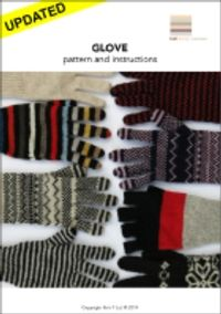 Love Gloves | Traditional Format Pattern Available For Download | Designer: Knit-1 | Machine Knitting Pattern