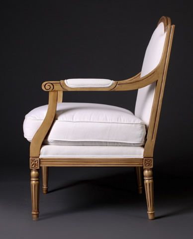 Hello Beautiful Solid Canadian Made Louis Chair! By Gresham House Furniture.