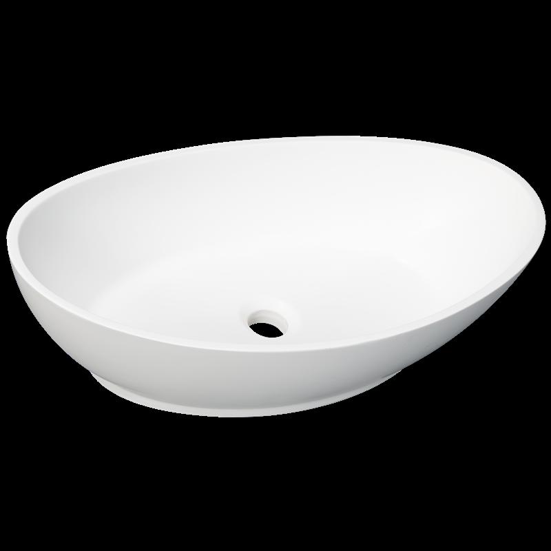 Bathroom Sinks Bunnings find decorium 620 x 340 x 175mm white elliptic basin at bunnings
