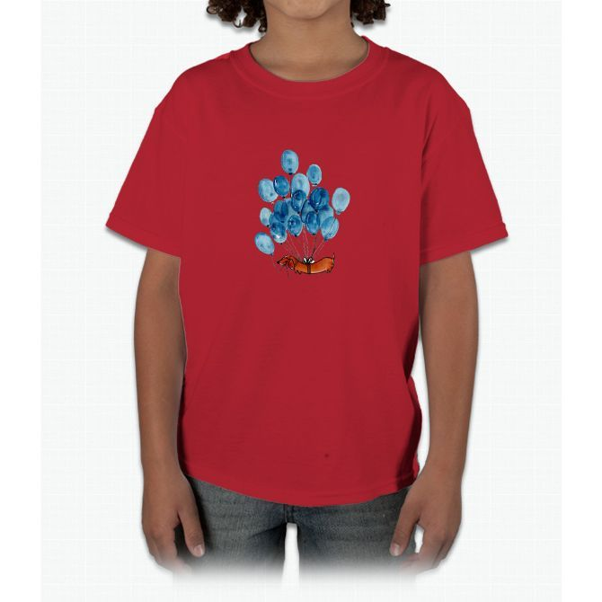 Dachshund dog and balloons Young T-Shirt