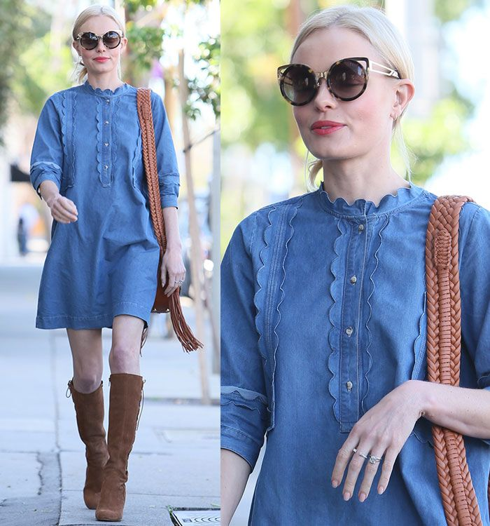 Kate Bosworth at a salon in Beverly Hills, Los Angeles on February 24, 2016