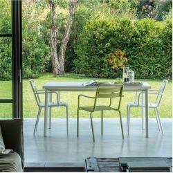Tables De Jardin En Acier Inoxydable Table Etoile Rectangulaire