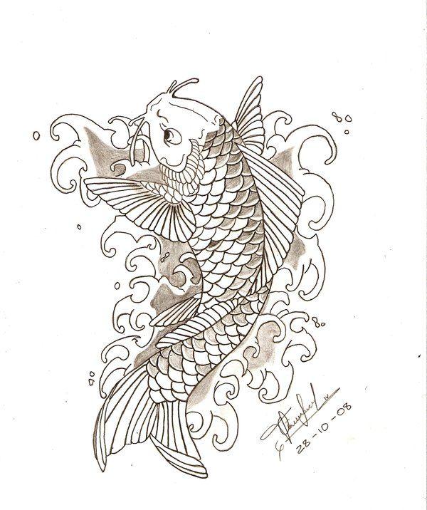 d3c8c68e6 Neo+Traditional+koi+fish+tattoo | Koi Fish - Pez Koi by ~Pl2ooo--tcs on  deviantART