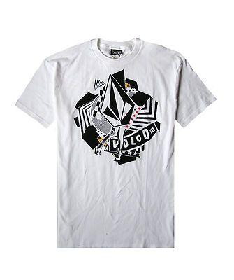e23b48b7 Brand NEW Volcom Mens Guys Graphic T Shirt Basic Crew TEE TOP Cotton Blouse  | eBay