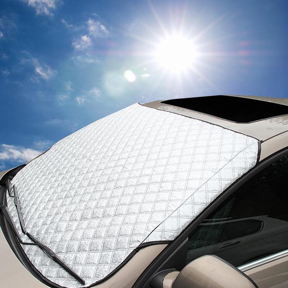 Reflective Car Sun Ice Shade Universal Folding Foil Windscreen Front or Rear