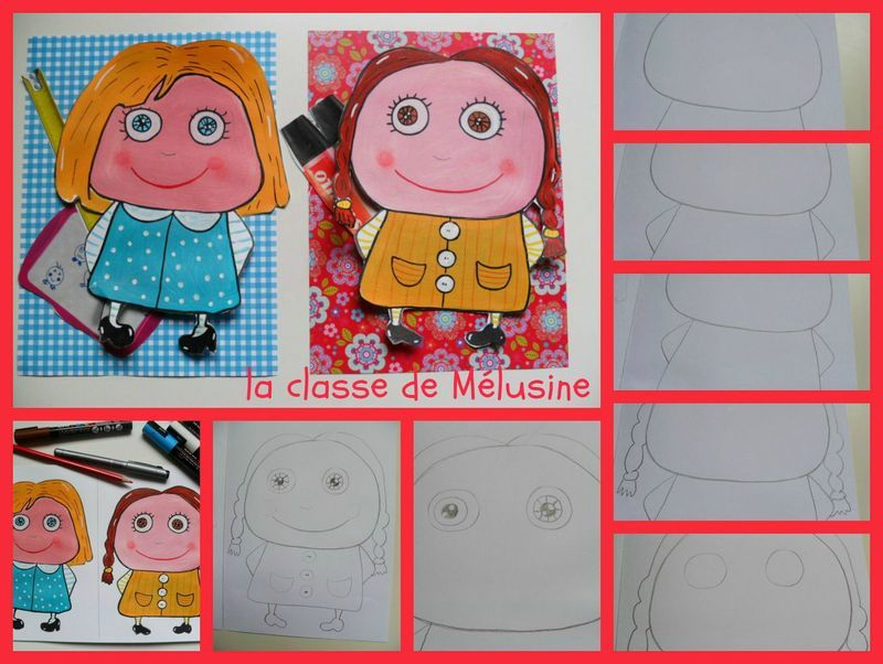 Des portraits fa on isabelle kessedjian en dessin for Decoration porte arts visuels