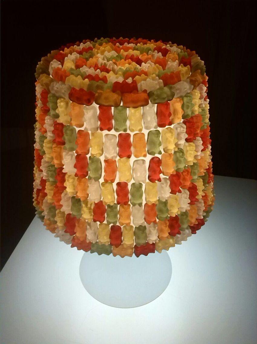 Wunderwitzige Gummibärchenlampe
