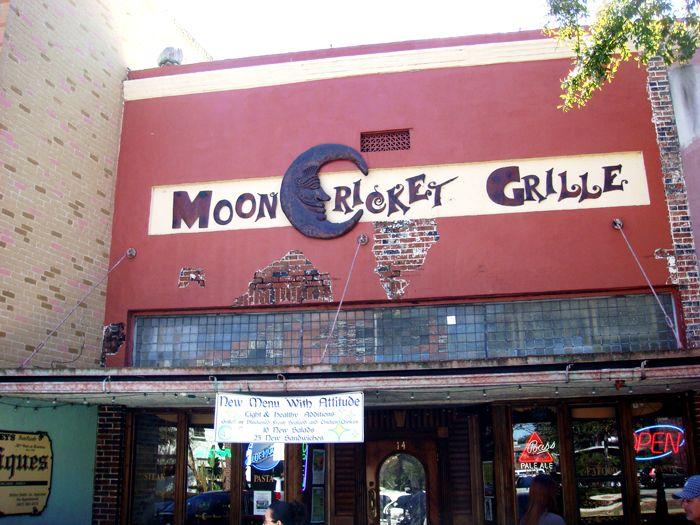Moon cricket grille winter garden fl restaurant bar - Best restaurants in winter garden ...