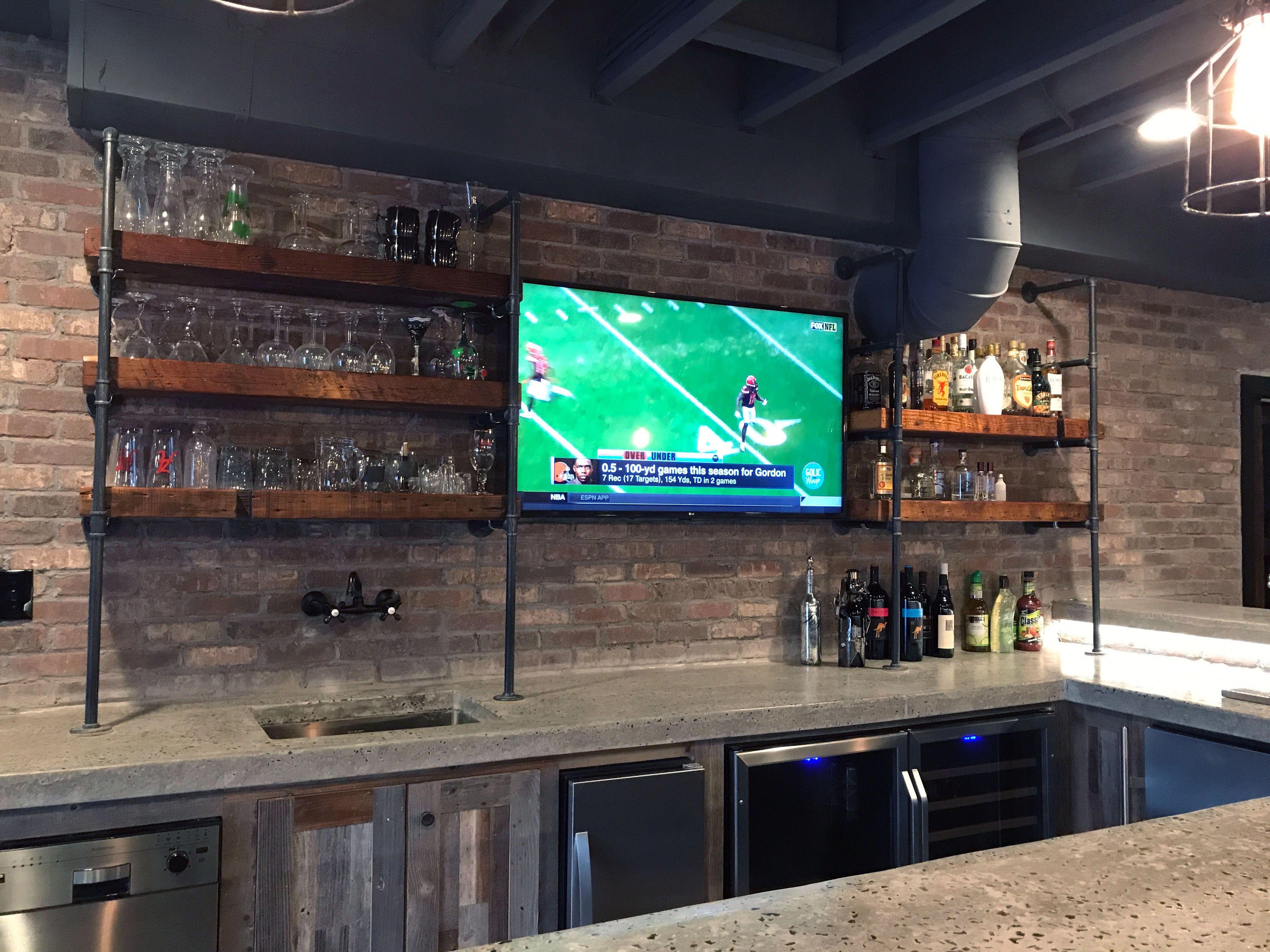 Smart Basement Bar Ideas Making Your Cellar Pub Sparkle Small