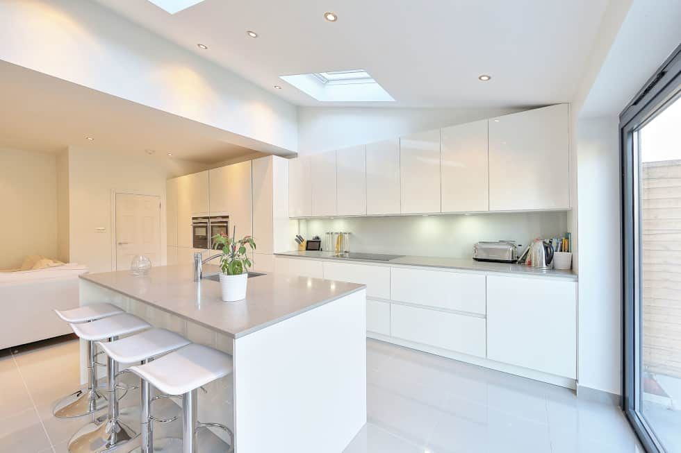 Kitchen Ideas Ealing.Kitchen Rear Extension Ealing With Pitched Roof Kitchen By Nuspace