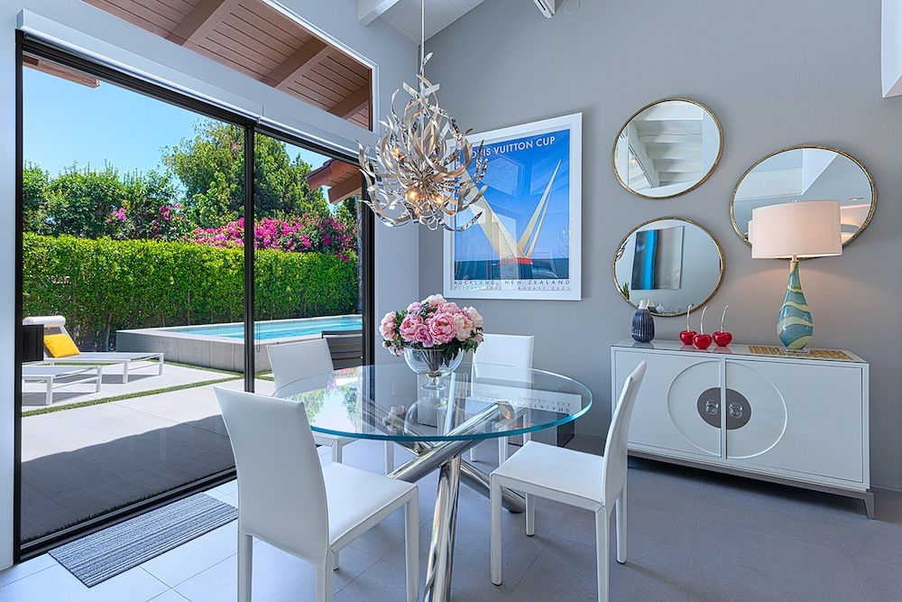 A recent renovation project by design palm springs ca
