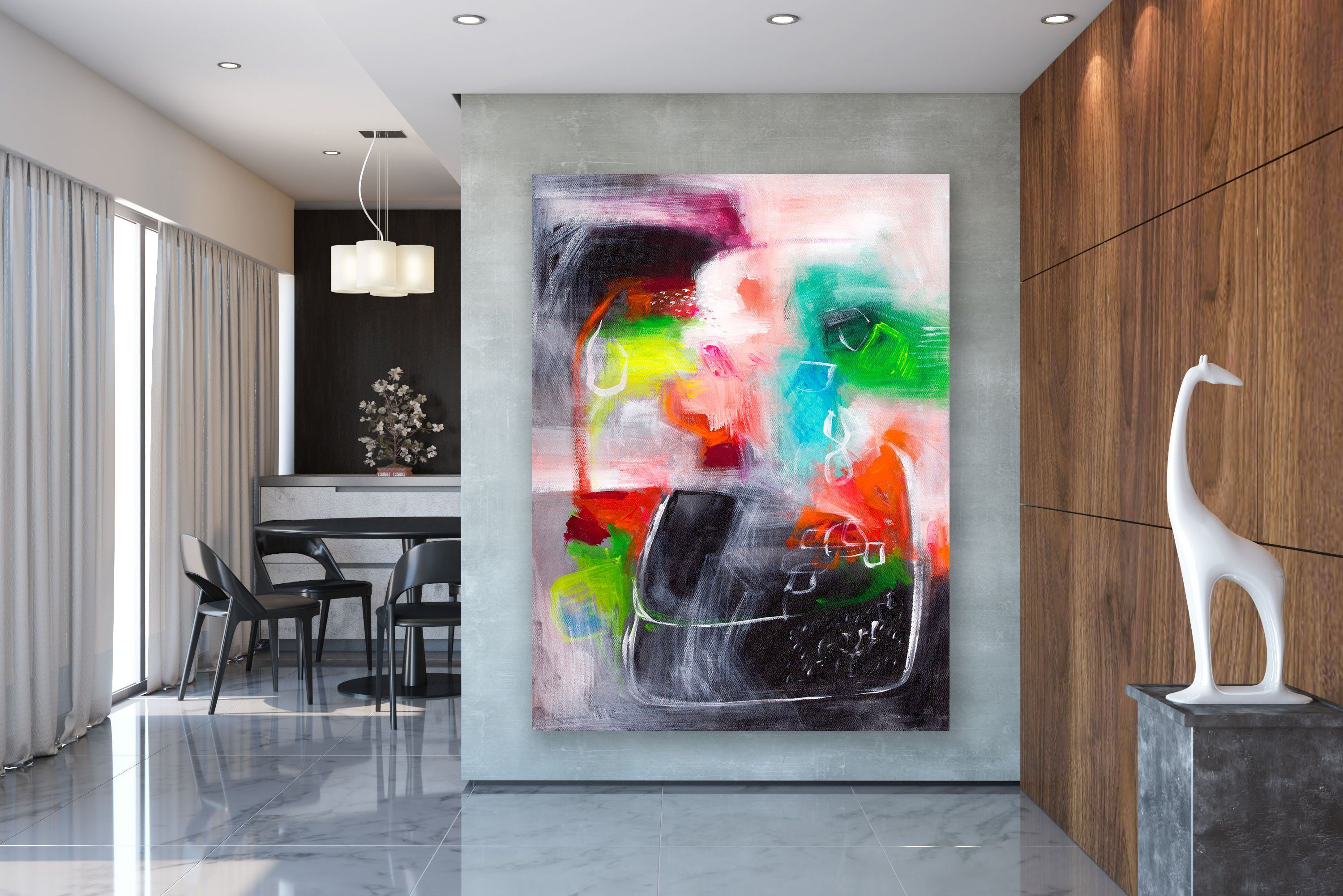 Large Modern Wall Art Painting Large Abstract Wall Art Texture Art