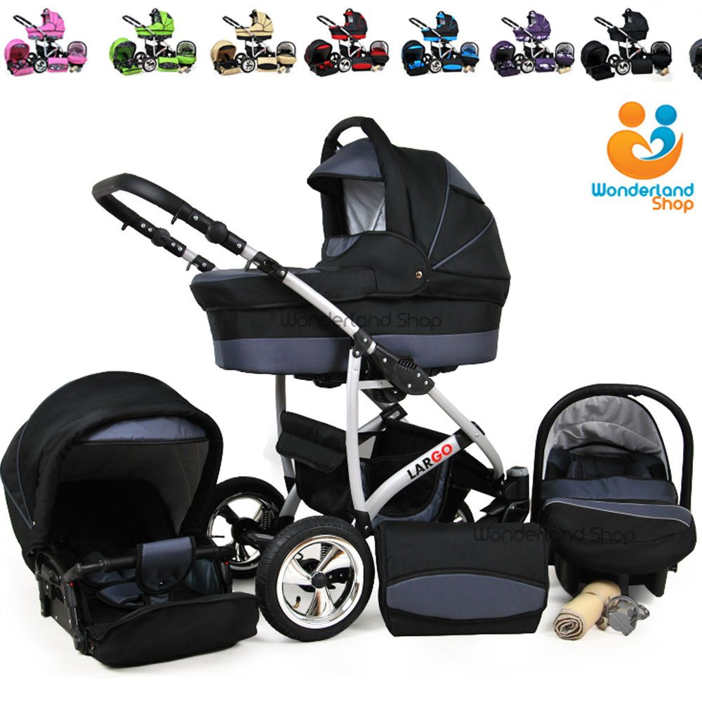 Baby Pram Stroller Pushchair + Car Seat Carrycot Buggy Travel System Expert Advice When It Comes To Raising Your Kids