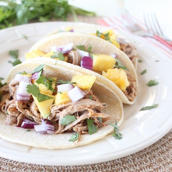 Slow Cooked Tacos Al Pastor