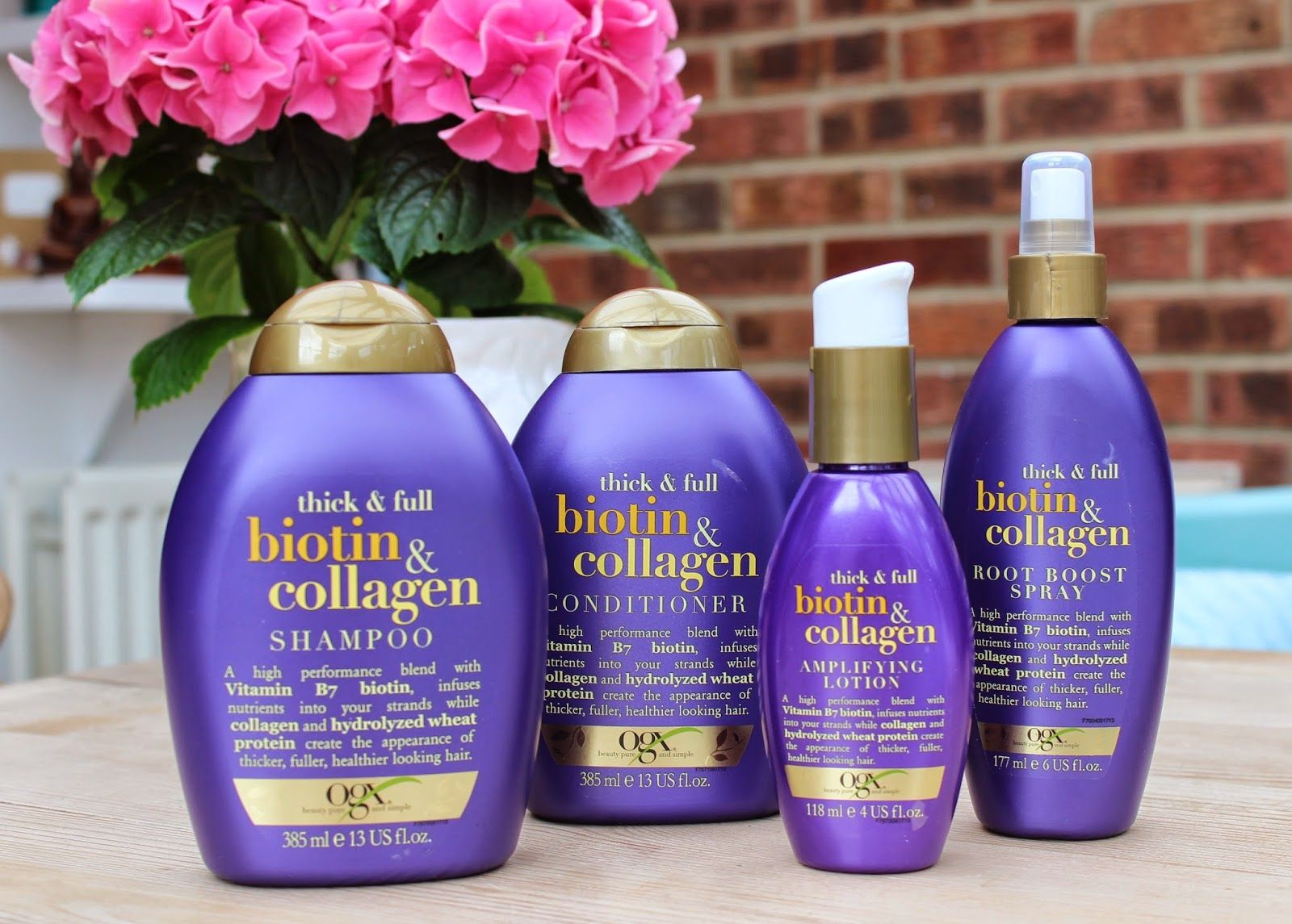 BEAUTY & LE CHIC OGX Thick & Full Biotin & Collagen The