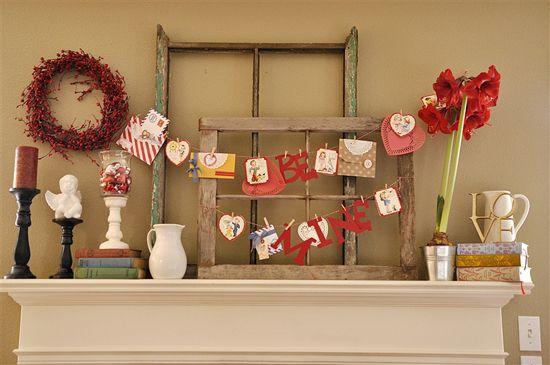 valentine decor - Vintage Valentine Decorations